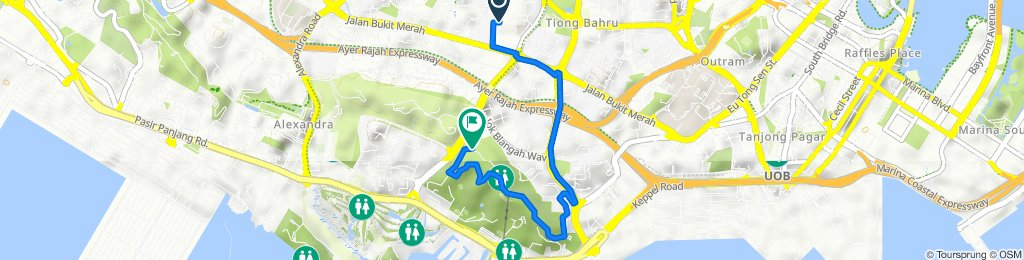 88 Redhill Close, Bukit Merah to Mount Faber Loop, Telok Blangah