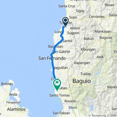 MacArthur Highway, Bangar to Agoo