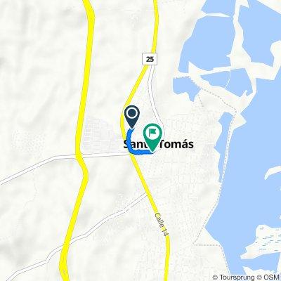 De Calle 12 1215, Santo Tomás a Carrera 5 9-92, Santo Tomás