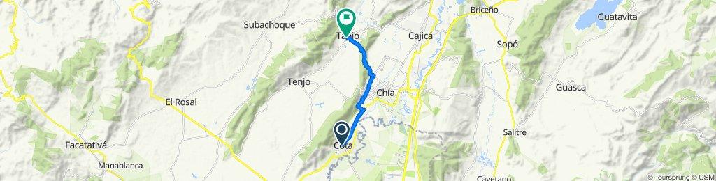 De Cota a Carrera 3 4-19, Tabio