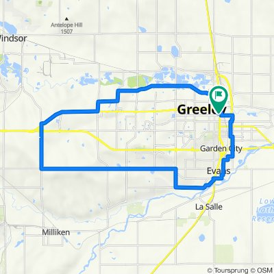 Greeley tour from downtown