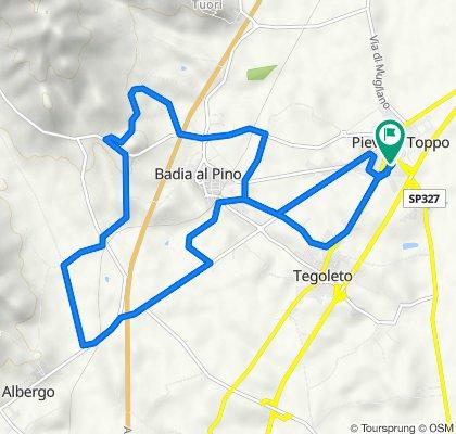 Da Via Farinata degli Uberti 2–38, Pieve al Toppo a Via Farinata degli Uberti 32/1, Civitella in Val di Chiana