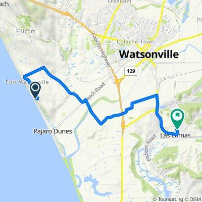Route to 10 Thomas Rd, Royal Oaks