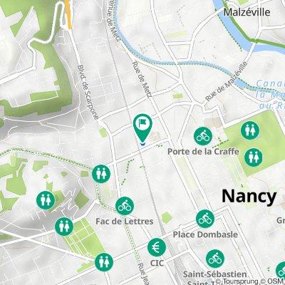 De 80 Quai Claude Le Lorrain, Nancy à 80 Quai Claude Le Lorrain, Nancy