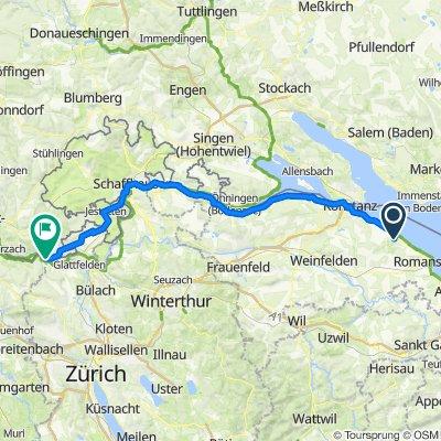 TdS 2021-11 Güttingen - Rheinfall - Kaiserstuhl