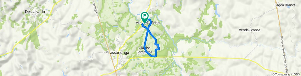 De Rua D10, 1–209, Pirassununga a Rua D09, 1–207, Pirassununga