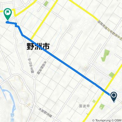 548-24, Yasu to 178-2, Yasu