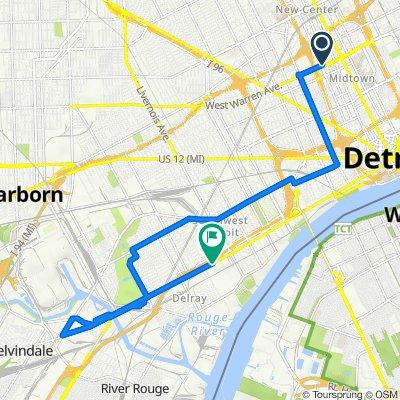 Detroit PUFP Field Campaign w/ POI