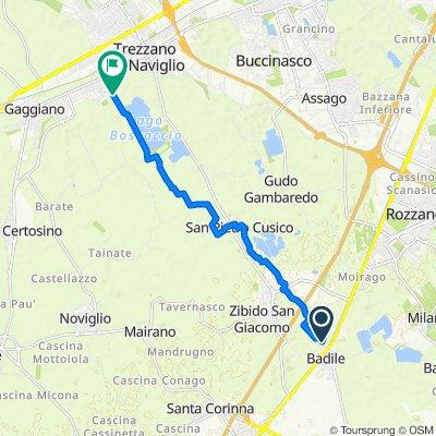 Da Via De Gasperi 10b–10c, Zibido San Giacomo a Cascina Cantalupo, Gaggiano