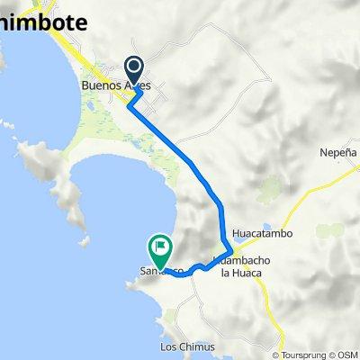 Nuevo Chimbote - Samanco