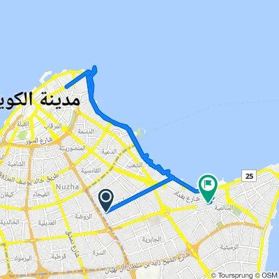 153 Street, Hawally to Salem Al Mubarak Street 22, Salmiya