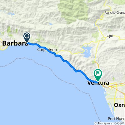 1–149 Sears St, Santa Barbara to 501 Poli St, Ventura