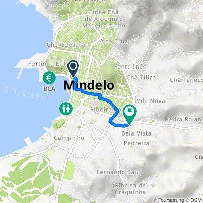 Rua Cristiano Sena Barcelos, Mindelo to Rua de PMI, Mindelo