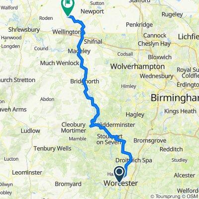 Pt2 Worcester to Wrekin Forest