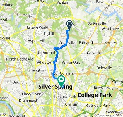 14800–14898 Harvest Ln, Silver Spring to 200 Denver Rd, Silver Spring