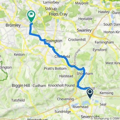 Otford to Chiselhurst