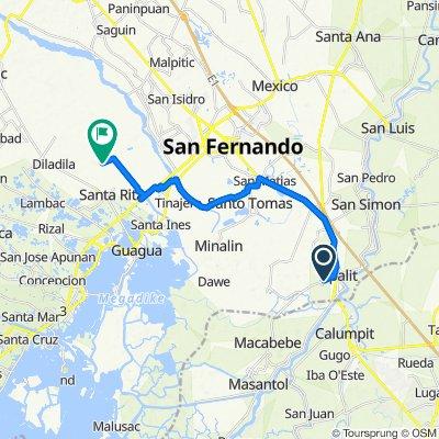 Sampaga 524, Apalit to Unnamed Road, Santa Rita