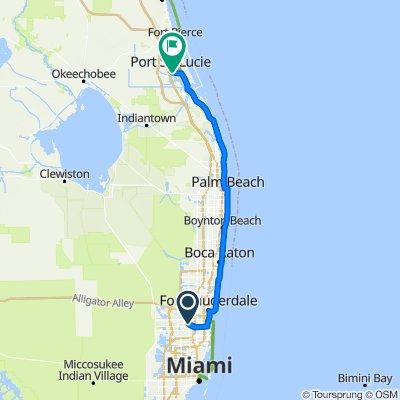4395 Cascada Cir, Cooper City to 2230–2244 SW Airoso Blvd, Port Saint Lucie