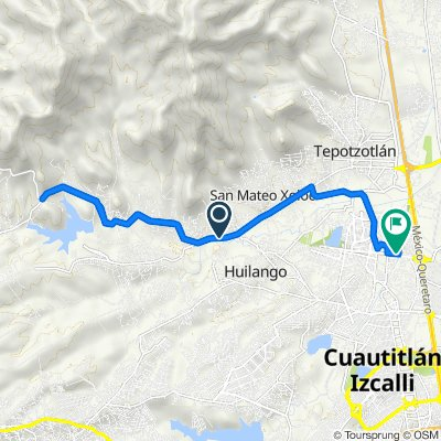 Puente Grande-Ent. Km. 27, Tepotzotlán to Cerrada Almendro 50–68, Cuautitlán Izcalli