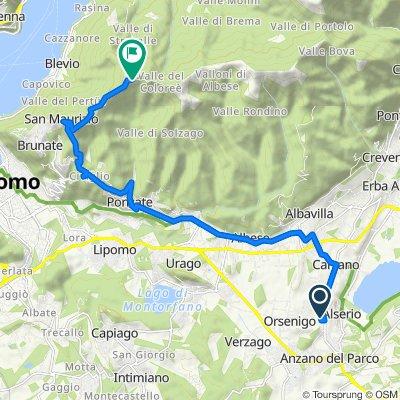 Da Via Ilaria Alpi 15, Cascina Foppa a Via Bel Paese 9, Como