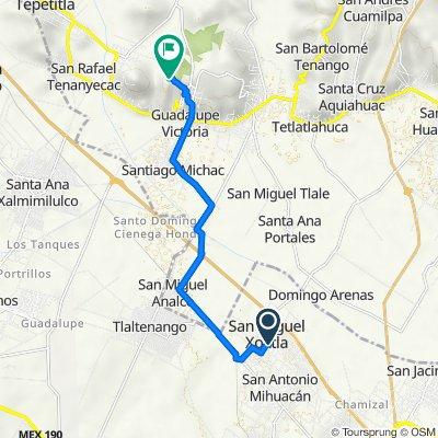 De Fco. I. Madero 49, San Miguel Xoxtla a Unnamed Road