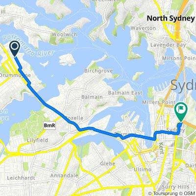 27E–43 Collingwood Street, Drummoyne to 165 Macquarie Street, Sydney