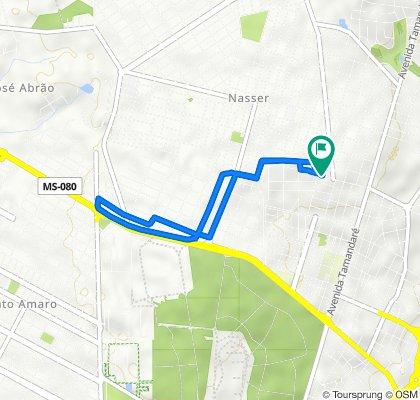De Avenida Geraldo Coelho Leite, 375, Campo Grande a Avenida Geraldo Coelho Leite, 353, Campo Grande