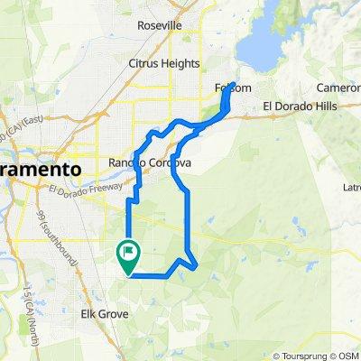 8225–8231 Bradshaw Rd, Sacramento to 8392 Brooklyn Rd, Sacramento