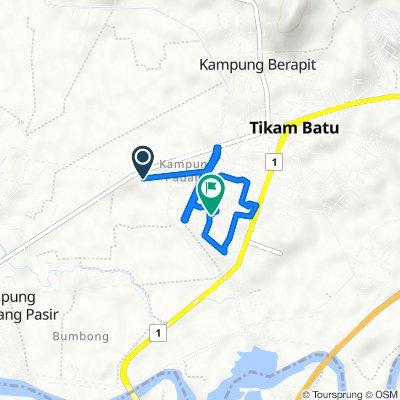 Jalan Kampung Permatang Merbau 1,Sungai Petani, Tikam Batu to Jalan Kampung Masjid F238, Tikam Batu