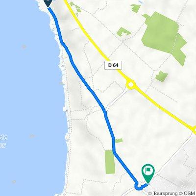 Itinéraire vers 320 Résidence Parc Loisir Horizon Bleu, Vendres