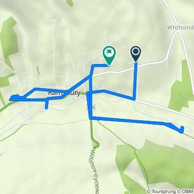 33–99 Whittonditch Road, Ramsbury, Marlborough to 43 Ashley Piece, Marlborough