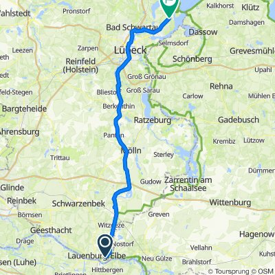 Lauenburg - Kanal - Travemünde