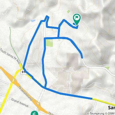 1314 Avenida Pantera, San Marcos to 1315 Avenida Pantera, San Marcos