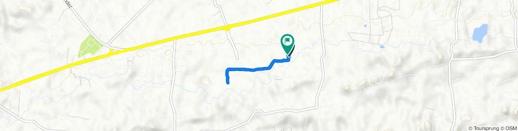 Route to Calle Moreau, Moca