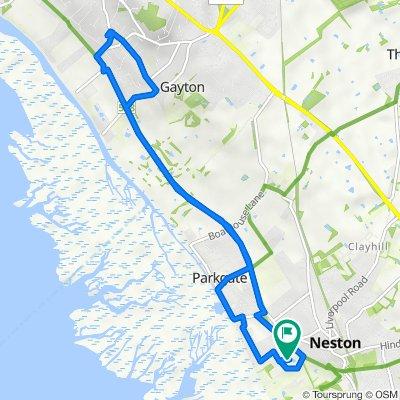1 Lapwing Way, Neston to 20 Boundary Park, Neston