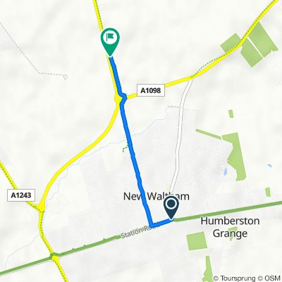 1A Peaks Lane, Grimsby to Peaks Parkway, New Waltham, Grimsby