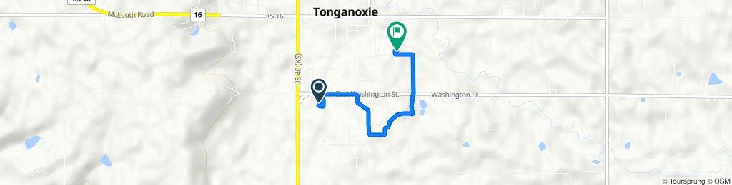 Washington Street 204, Tonganoxie to River Street 707, Tonganoxie