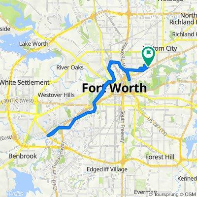 1209 Wayne St, Fort Worth to 1211 Wayne St, Fort Worth