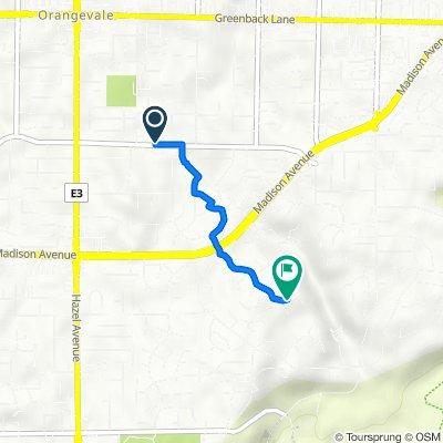 9001 Pershing Ave, Orangevale to 9225 Shady Tree Ct, Fair Oaks