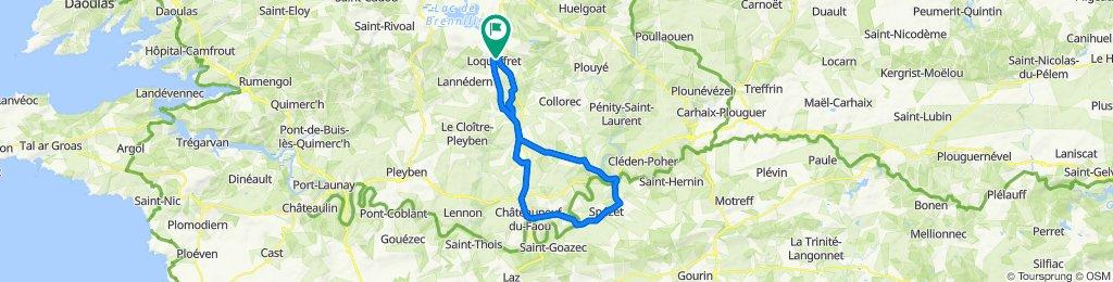 Cité Ker Avel 207, Loqueffret to Route d'Huelgoat 26, Loqueffret
