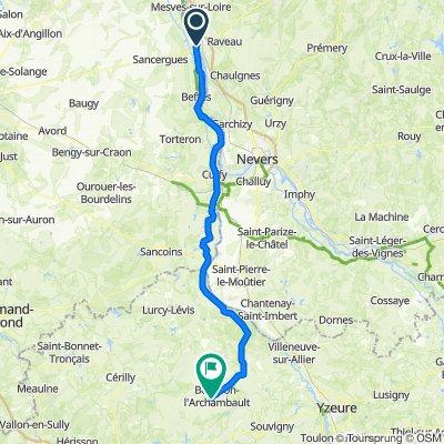 La Charite-sur-Loire - Bourbon-l'Archambault