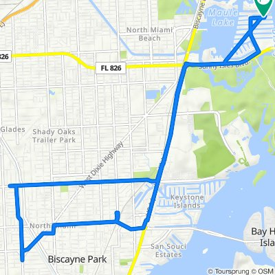Northeast 170th Street 3823, North Miami Beach to Northeast 170th Street 3801, North Miami Beach