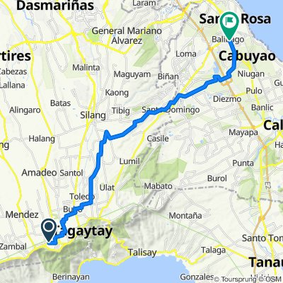 Mahogany Avenue 10, Tagaytay to Asian Highway 26 1512, Santa Rosa