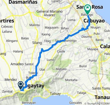 Mahogany Avenue 10, Tagaytay to Asian Highway 26 1512, Santa Rosa