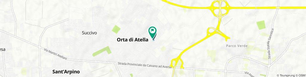 Da Via Arturo Toscanini 34, Orta di Atella a Via Arturo Toscanini 49, Orta di Atella