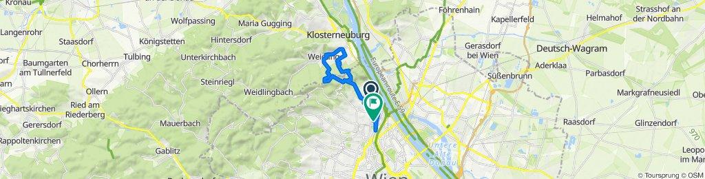 Zahnradbahnstraße 27–47, Wien nach Klabundgasse 2c/4–2c/5, Wien