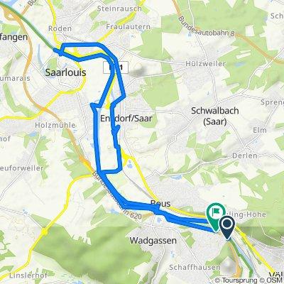 A620, Wadgassen nach A620, Wadgassen