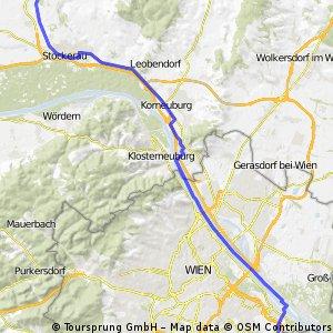 Abwechslungsreiche 50 km Fahrt