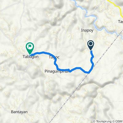Tabugon - Bantayan Road, Kabankalan to Motor Part's Supply, Kabankalan
