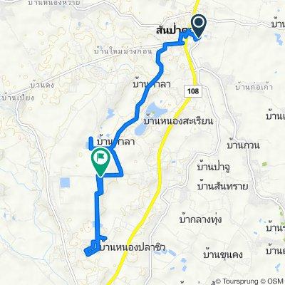 Unnamed Road, Tambon Thung Tom to Ban Klang